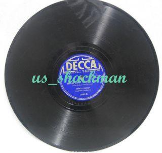 Jimmy Dorsey Classic Popular Original 78 RPM