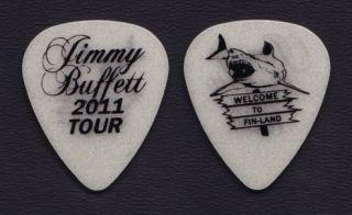 Jimmy Buffett Glow Guitar Pick 2011 Welcome to Fin Land Tour