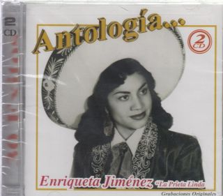 Enriqueta Jimenez La Prieta Linda CD New 2 Disc Set 30 Super Exitos