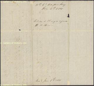 Joseph E Johnston Autograph Letter Signed