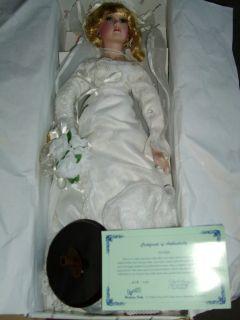 Jocelyn Duck House Heirloom Bridal Doll