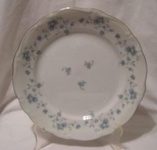 Johann Haviland Bavaria Germany Blue Garland Dinner Plate 10