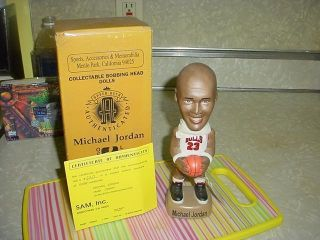 Michael Jordan Chicago Bulls Bobble Head Nodder Sam Inc