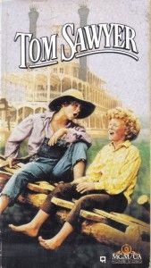 VHS Tom Sawyer Johnny Whittaker Jodie Fostere