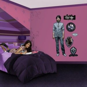WALL GRAPHIC WALLPAPER MURAL JOE JONAS JONAS BROTHERS DISNEY STICK ON