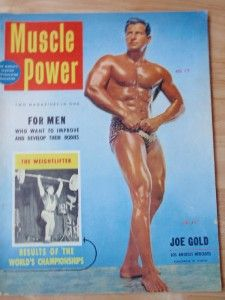 Muscle Power Bodybuilding Fitness Magazine Joe Gold 12 54