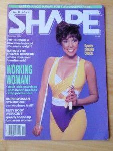 Joe Weider Shape Female Fitness Muscle Magazine Dynasty Diahann