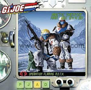 Joe Flaming M O T H Arctic Theater Exclusive 2 Figure Box Set G I Joe
