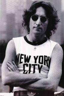 John Lennon New York City Music Art Poster Reprint 24 x 36
