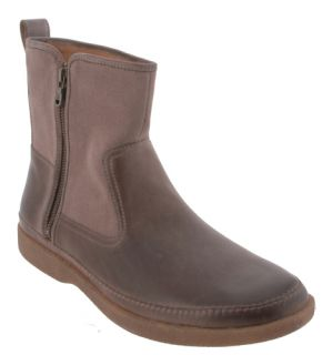 John Varvatos Brown Leather Marshall Side Zip Boots Mens 11