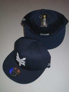 Zoo York Navy Blue Stretch Flex Fit Hat Cap Skate Fitted Ballcap