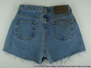 Calvin Klein CK Cut Offs Jean Shorts Womens Sz 2 4 Sehi