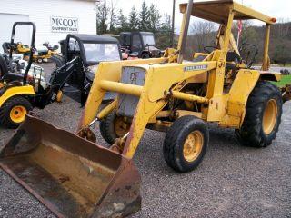John Deere 410B Tractor Loader Back Hoe