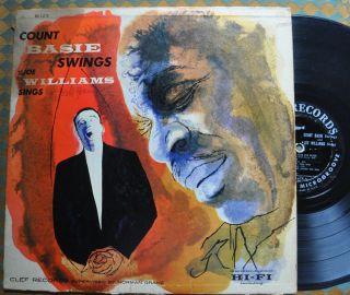 Orig Count Basie Swings Joe Williams Sings Clef MG C 678 Microgroove