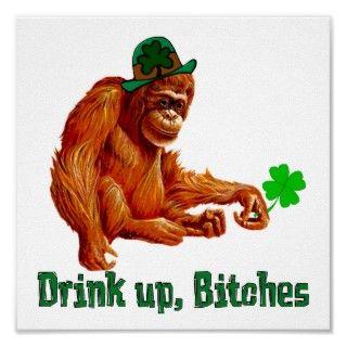 Flying Monkey Drinking Club Poster