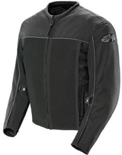 Joe Rocket Velocity Motorcycle Jacket Black X XL XLG Extra Large Mesh