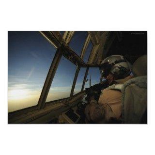 Air Force C 130 Hercules over Afghanistan