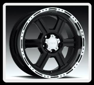 18 V Tec Off Road 326 6x5 5 Escalade Avalanche Yukon QX56 QX4 Black