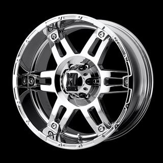 CHROME WHEELS W/ MICKEY THOMPSON ATZ RADIAL TIRES AND LUG KIT