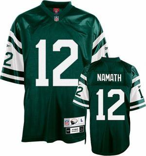 Joe Namath Premier Jersey Stitched