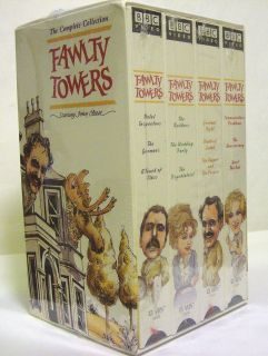 TOWERS THE COMPLETE COLLECTION VHS 2000 4 Tape Set John Cleese NEW