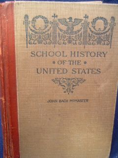 school history of the united states john bach mcmaster new york