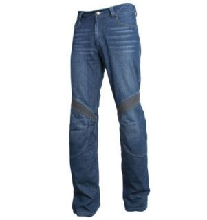Joe Rocket Kevlar Motorcycle Jeans Blue Size 40 Stunt New Pants