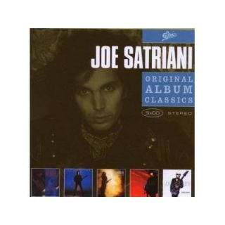 Joe Satriani ORIGINAL ALBUM CLASSICS Five Complete Albums BOX SET New