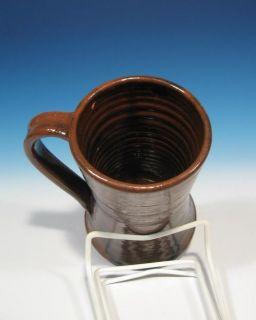 John Bell Waynesboro Pennsylvania Antique Redware Art Pottery Ale