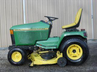 1996 John Deere 455 Diesel Lawn Garden Mower Tractor 60 Deck 564