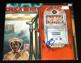 Chuck Berry Golden Decade Vol 3 Signed Autographed Album