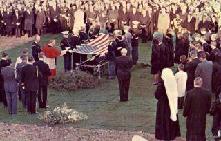 Cardinal Cushing Last Rites John F Kennedy Funeral