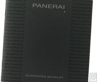 Panerai Luminor Marina Pam 299 SS Automatic Mens Watch w Box Papers