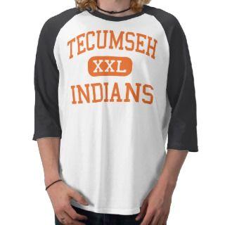Tecumseh   Indians   High   Tecumseh Michigan Tshirts