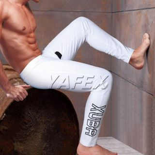Mens Thermal 3Color Underwear Long John Pants Trousers Stretch Cotton