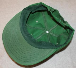 Vintage John Deere Farmer Cap Hat Tractor Farm Boy Party Lid