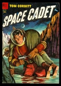 TOM CORBETT, SPACE CADET 11 5.0 VGF 1954 DELL TV UFO OUTER SPACE