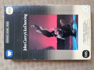 John Currys Ice Dancing VHS Large Box Peggy Fleming