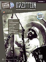 LED Zeppelin Drum Play Along Book CD John Bonham New