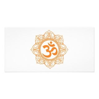 Om   Ohm   Aum Symbol Photo Cards