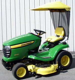John Deere Lawn Tractor Sunshade Fits X300 Series