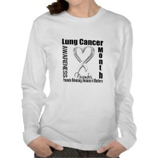Lung Cancer Awareness Month Matters T shirt