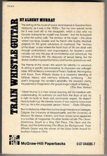 Train Whistle Guitar Albert Murray SC Book 1975