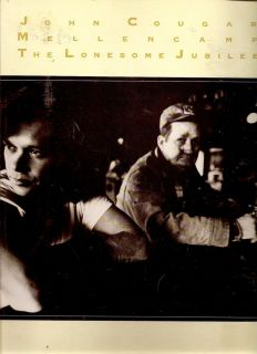 John Cougar Mellencamp Sheet Music Book Lonesome Jubilee