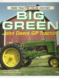 1994 BIG GREEN JOHN DEERE GP TRACTORS MOTORBOOKS FARM TRACTOR COLOR HISTORY