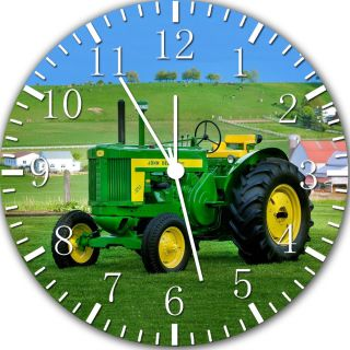 New John Deere farm tractor wall Clock 10 Room Decor W381 Fast shipping