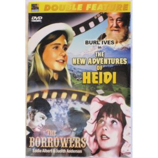 Family Double Feature The New Adventures of Heidi The Borrowers DVD 2005
