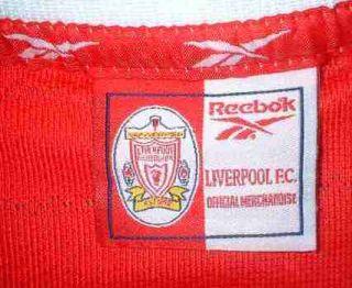 Liverpool Vintage Football Soccer Shirt Jersey No7 L
