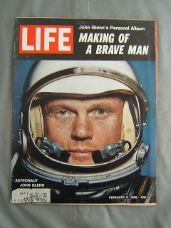 Life Magazine February 2 1962 Astronaut John Glenn