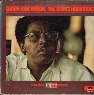 Shaky Jake Harris John Mayall Devil's Harmonica 1971 Germany EX Vinyl